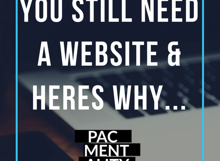 Yes, you still need a website and here's why...