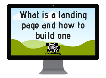 What is a landing page and how to build one