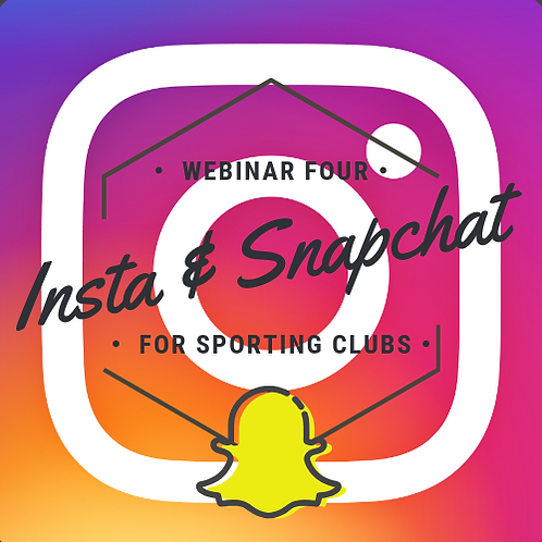 Instagram and Snapchat for sporting clubs