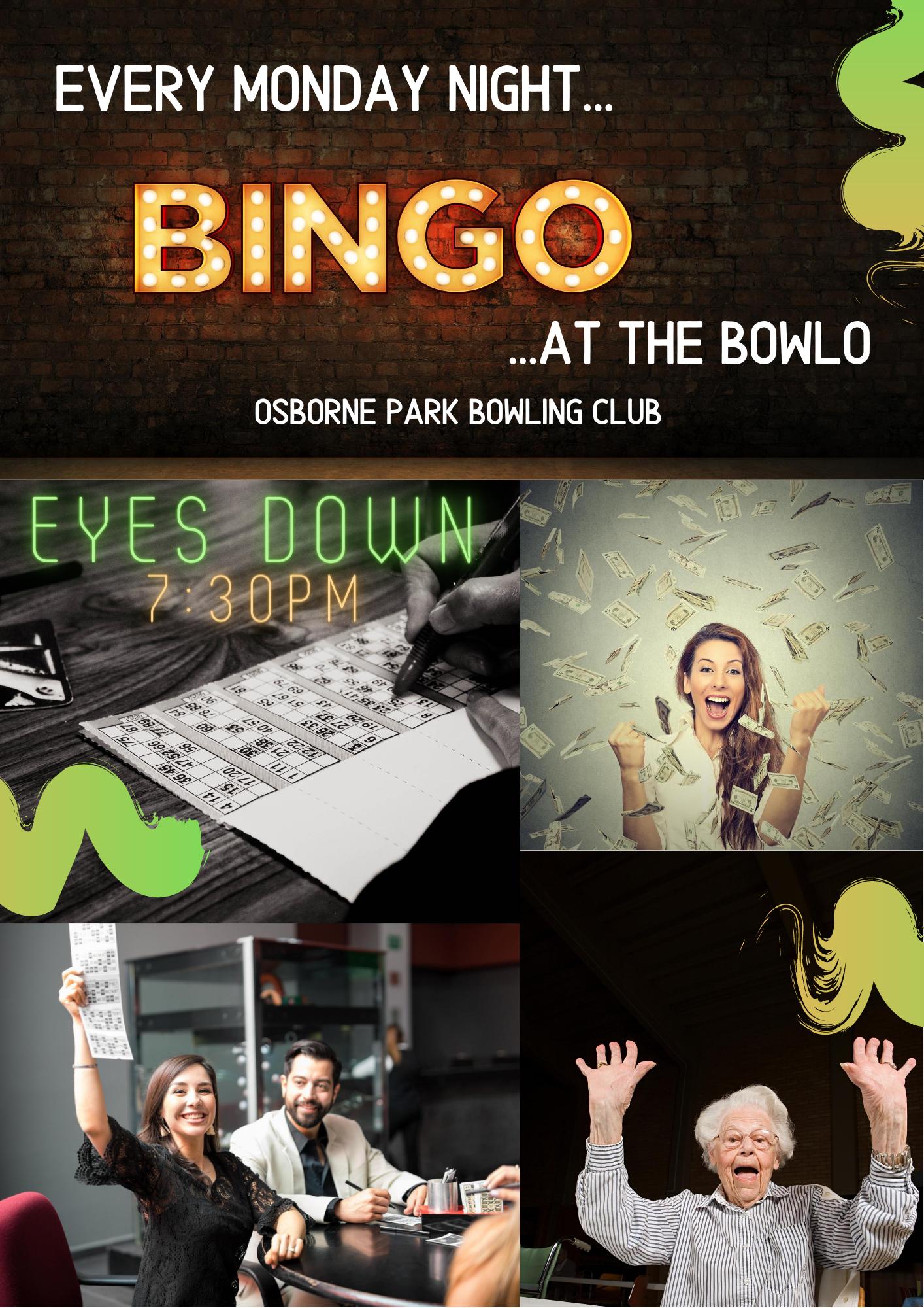 OOPBC Bingo flyer