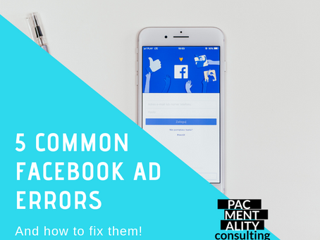 5 common Facebook Ad errors and how to fix them