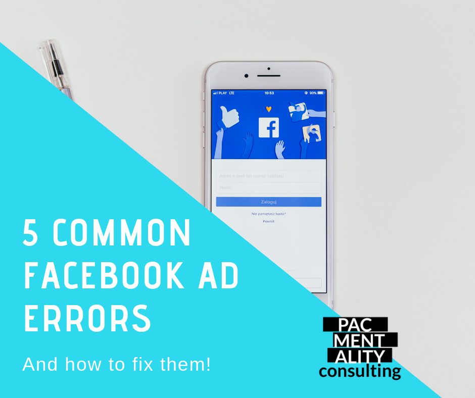Facenook ad errors, how to fix Facebook