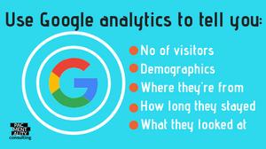 google analytics SEO web site website