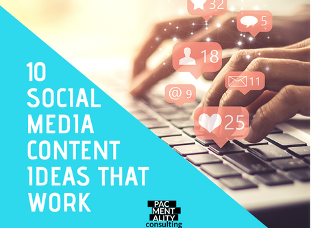 10 social media content ideas that work