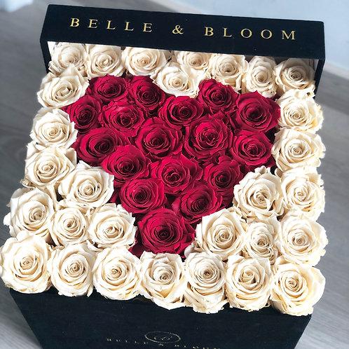 Infinity Heart Bisou Box - 42-47 Rose