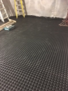 20mm cavity membrane on floor