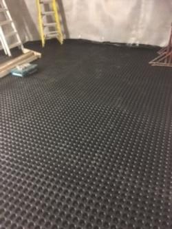 20mm cavity membrane on floor