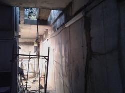 Repair work to concrete