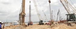 Steel reinforcement installed