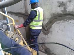 Concrete joint filling