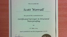 ULTRA Membrane Systems has a newly qualified surveyor!