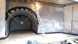 AP Gooch waterproofing a basement