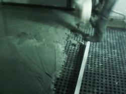 Concrete on ULTRA 20mm Membrane