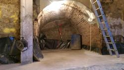 Preparing the basement walls