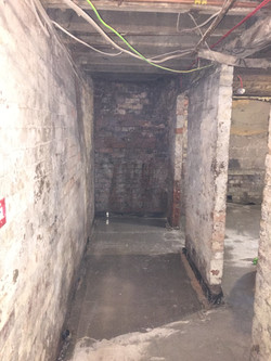 Basement conversion before and after