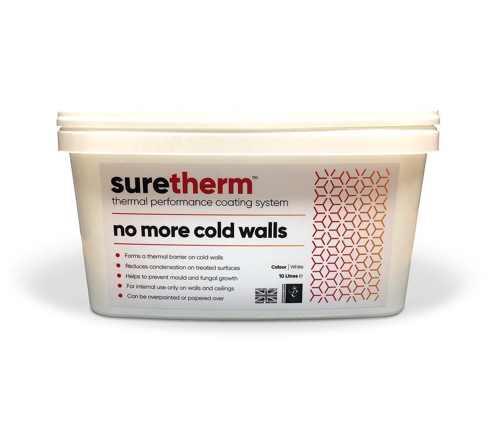 Suretherm anti condensation paint
