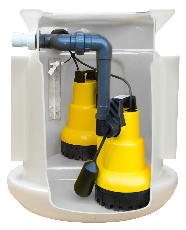 basement tanking sump pump