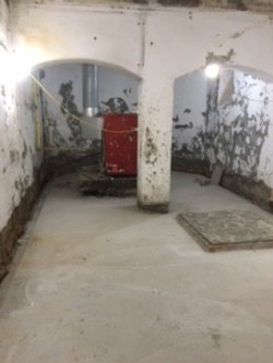 Structural waterproofing to basement