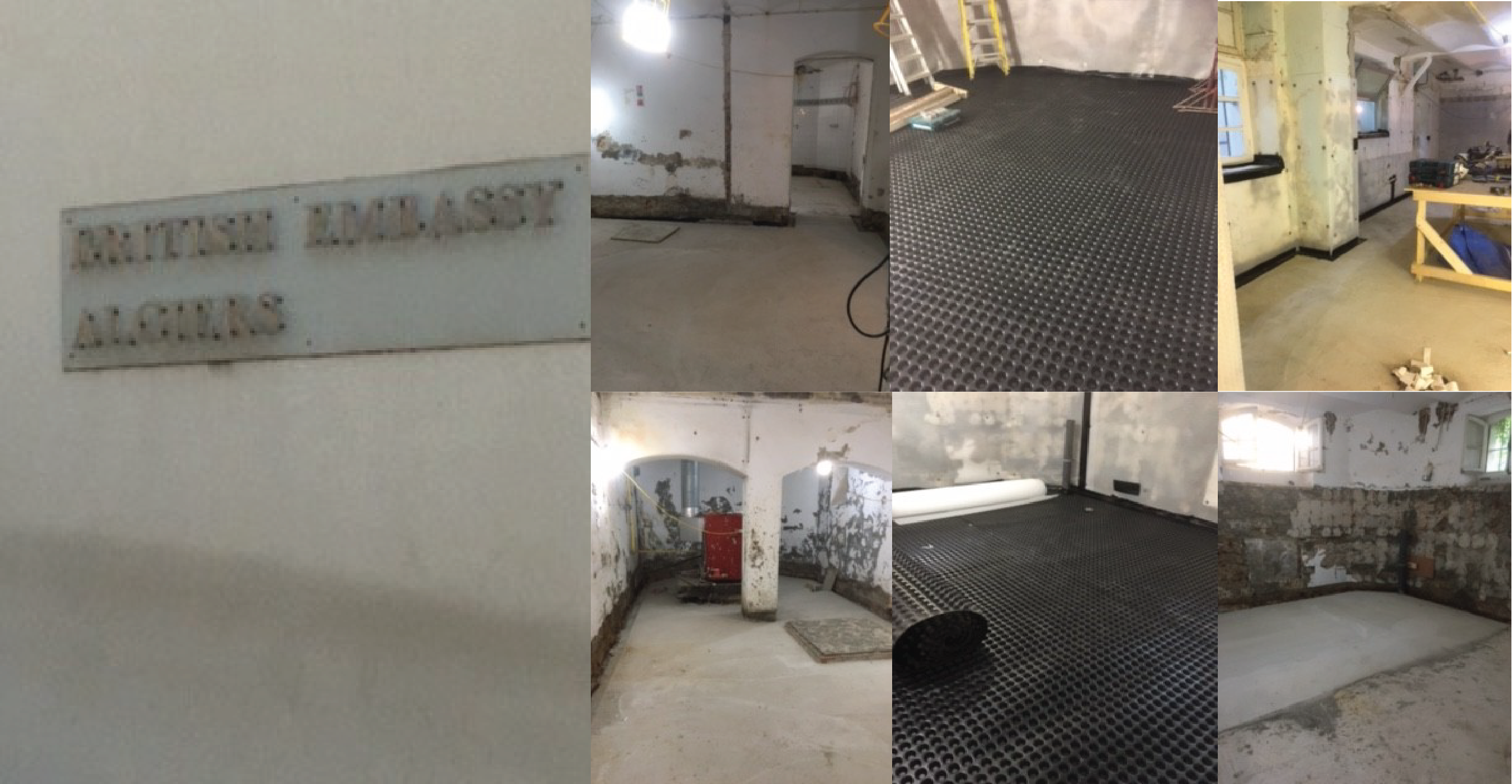 Basement waterproofing in Algeria
