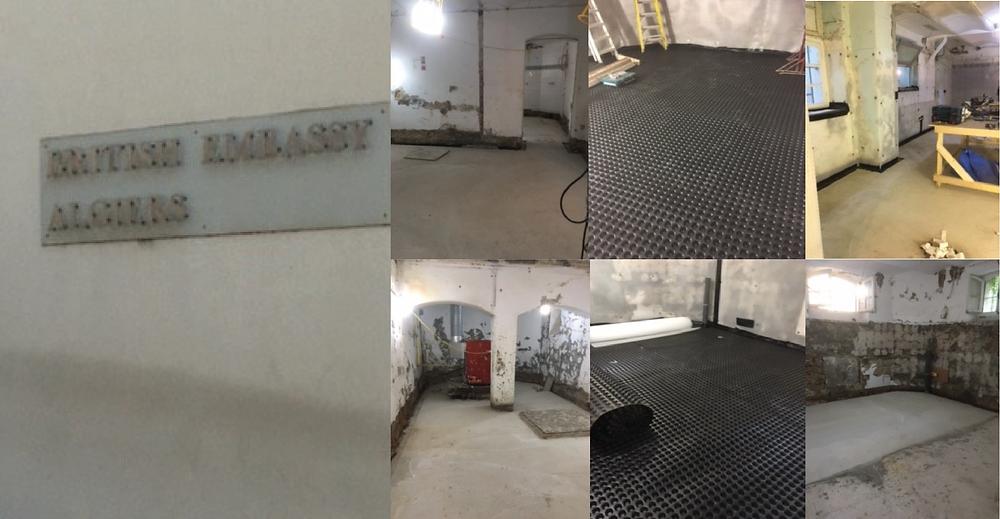 cavity membrane for basement in Algeria