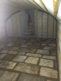 Cellar conversion almost done