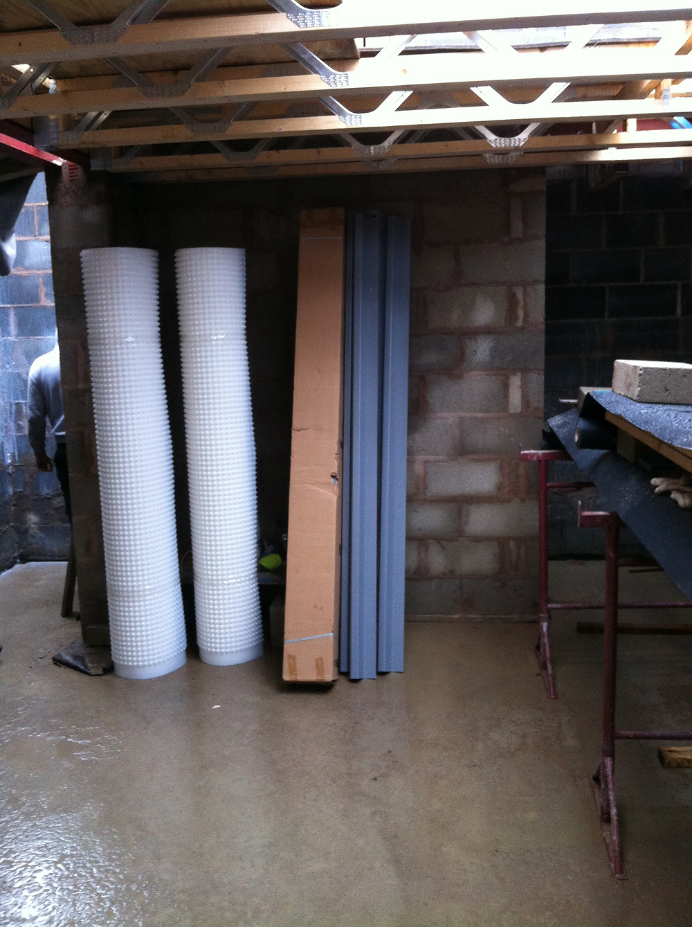 Basement Membrane for walls and floors