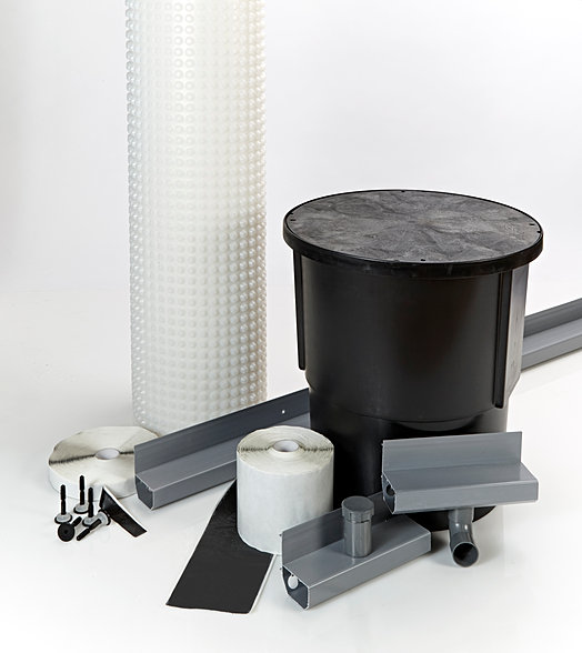 Full Basement Waterproofing Kits For Tanking Cellars And
