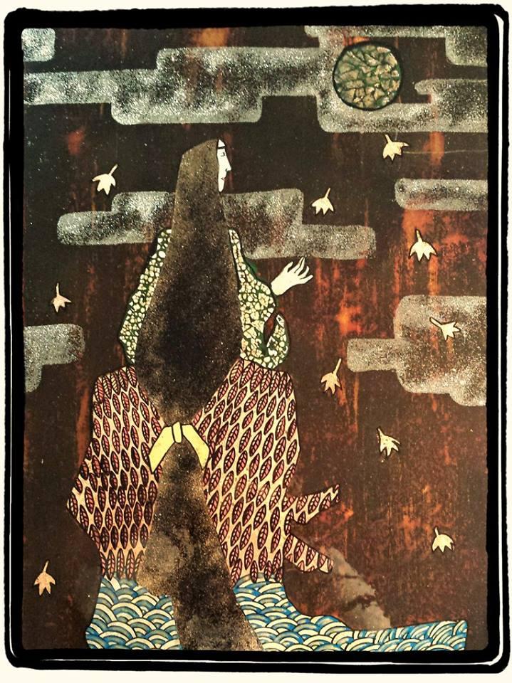 PLEINE LUNE (60 x 80 cm)