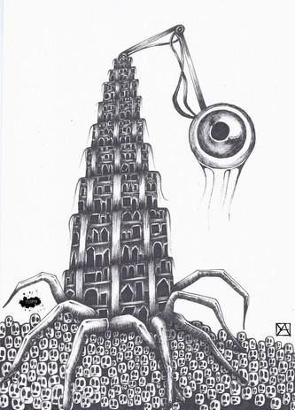 """""""Big Babel is watching you"""""""