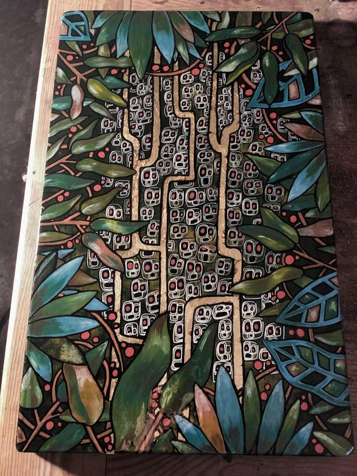 LES PYGMEES (30x40 cm)