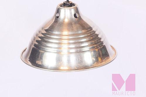 LAMPARA INDUSTRIAL PLATEADO PEQ