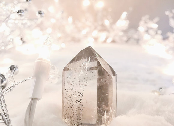 Clear Quartz with Inclusions