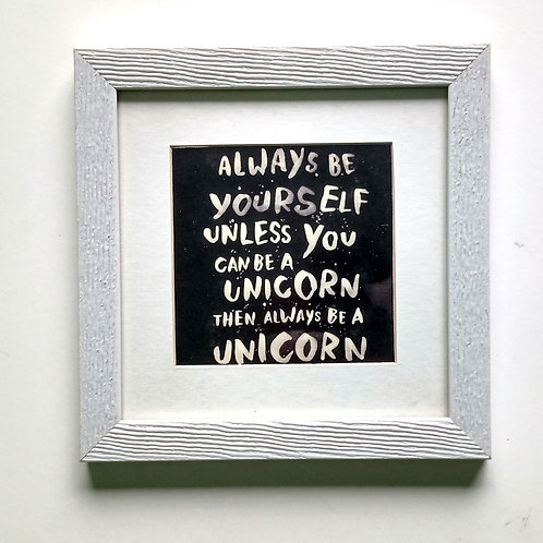 CUADRO ALWAYS BE YOURSELF