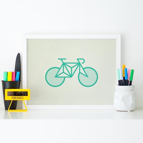 BICICLETA VERDE By Luis Valverde