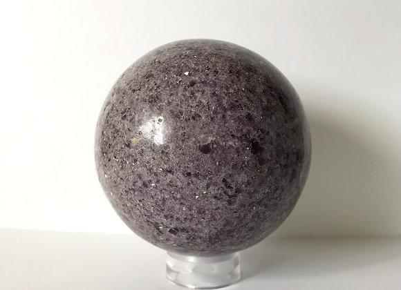 117mm Polished Lepidolite Sphere