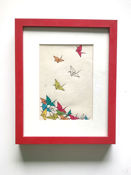ORIGAMI PRINT AVES