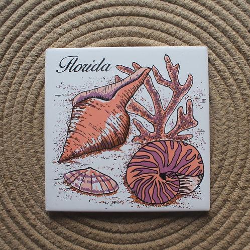 MOSAICO DECORATIVO FLORIDA SHELLS