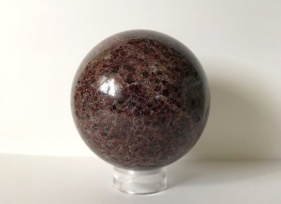 104mm Polished Lepidolite Sphere