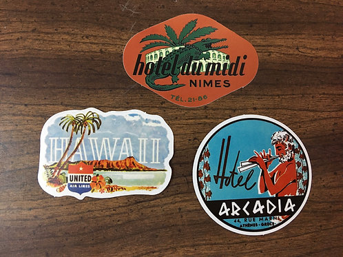 STICKERS CARIBBEAN VIBES
