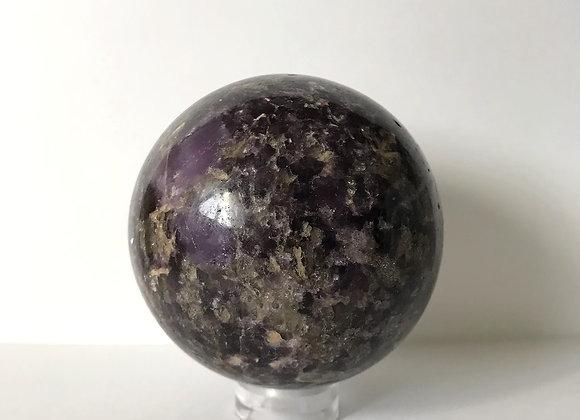 120mm Polished Lepidolite Sphere