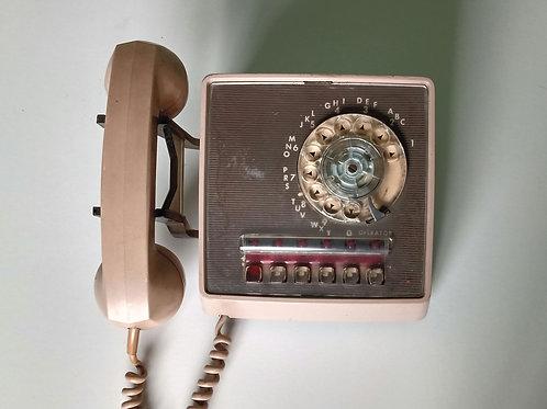 TELÉFONO DE PARED DE DISCO