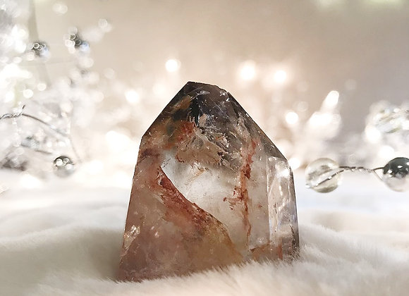 Iron Included Smoky Quartz