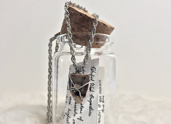 Petrified Wood Necklace
