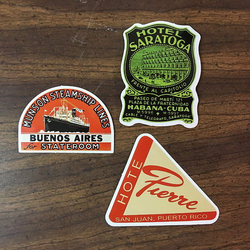 STICKERS AMERICA VINTAGE COLLECTION