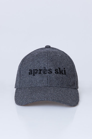 APRES SKI - Casquette laine grise