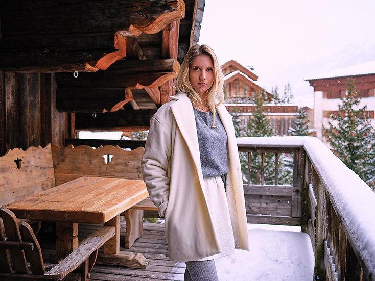 MANFRED - Manteau blanc