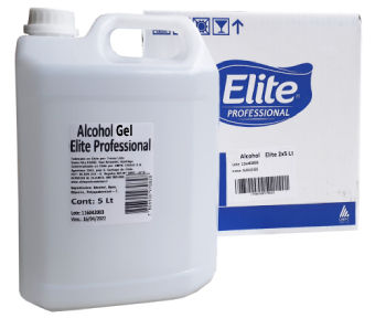 Alcohol gel Elite 5 litros