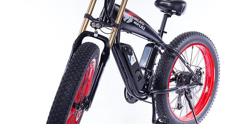 SLMRO BULL Folding Fat Tyre Electric Bike