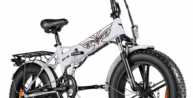 (EP2) Folding Fat Tyre Electric Bike  Aluminium Frame 48V12.5A 20*4.0 Wheels.