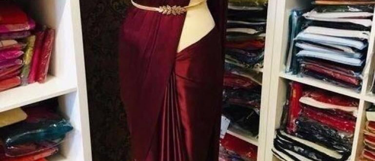 Saree - Alluring Satin